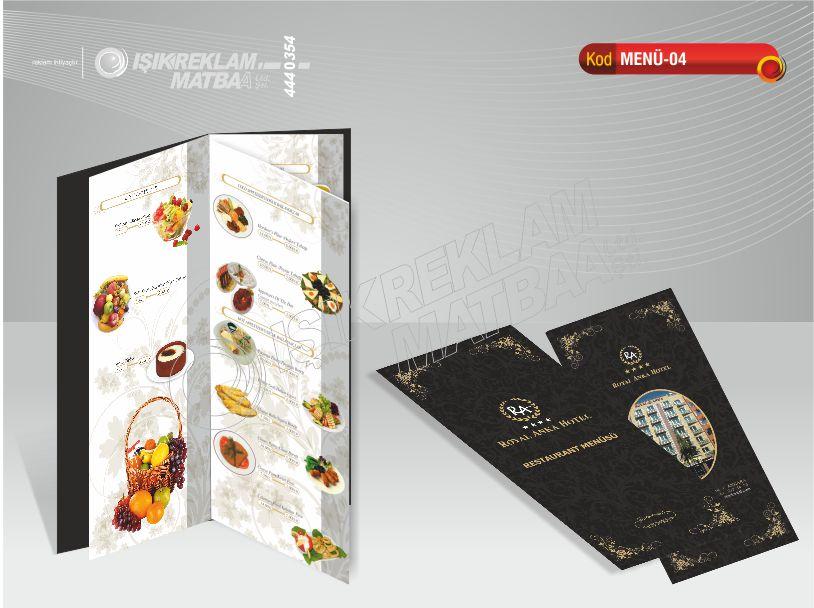 Restaurant Menü 04