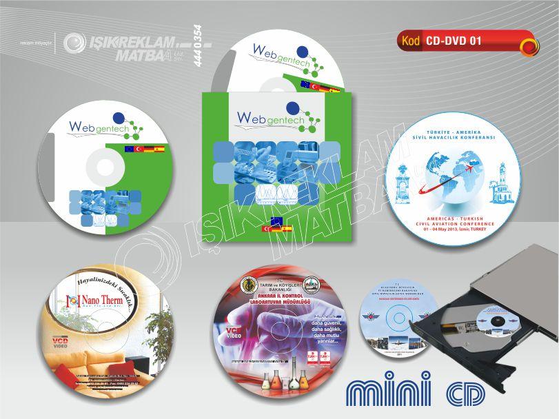 Baskılı CD DVD 01