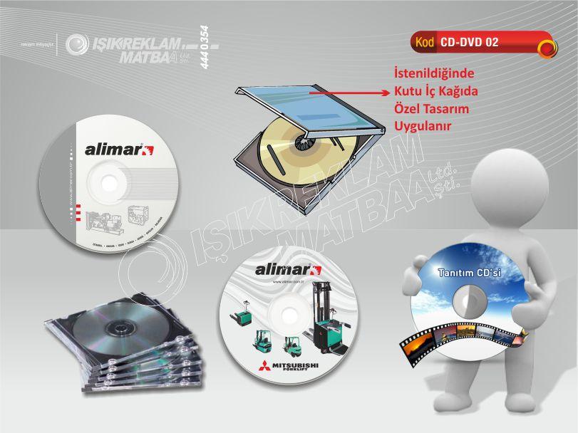 Baskılı CD DVD 02