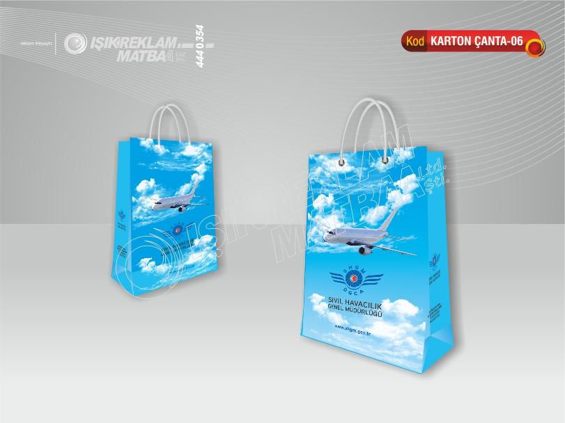 Karton Çanta 06