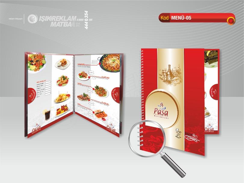 Restaurant Menü 05
