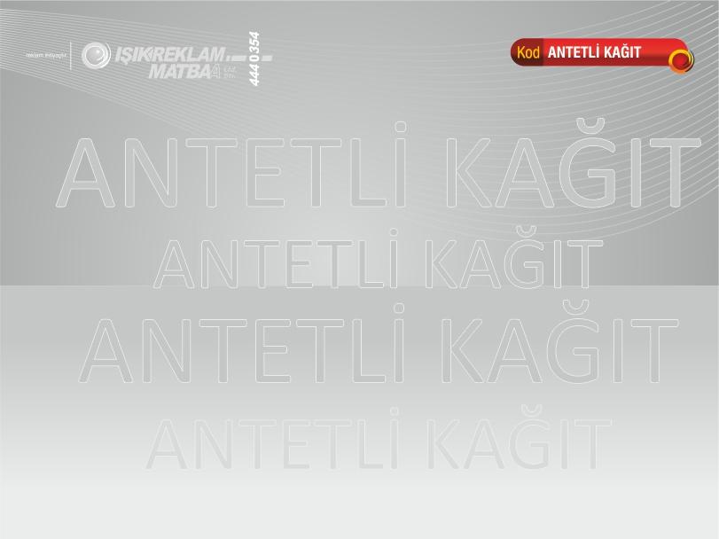 Antetli Kağıt 06